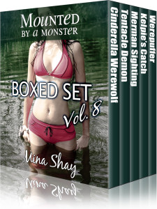 Mounted by a Monster: Boxed Set Volume 8