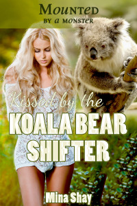 Kissed by the Koala Bear Shifter by Mina Shay